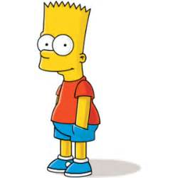 Bart simpson book report